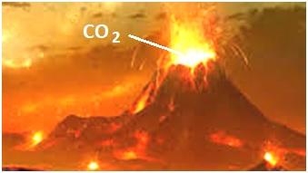 Ancient volcanoes