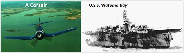 Corsair and Natoma Bay