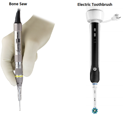 Bone Saw and Electric Tooth Brush 18